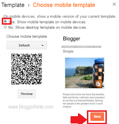 Make Blogger Blog Mobile Friendly