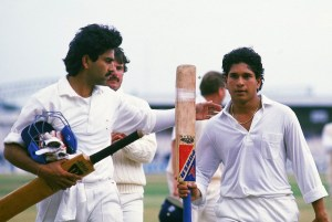 First Test Century by Sachin in England