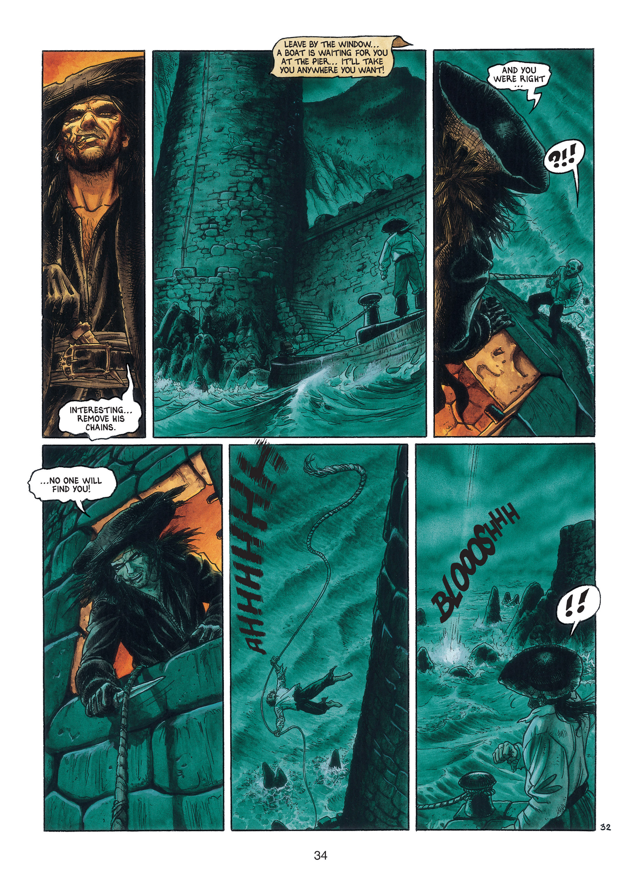 Read online Barracuda comic -  Issue #3 - 35