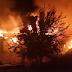 40 de pompieri din Constanta, Ialomita si Calarasi au intervenit azi noapte in Cernavoda