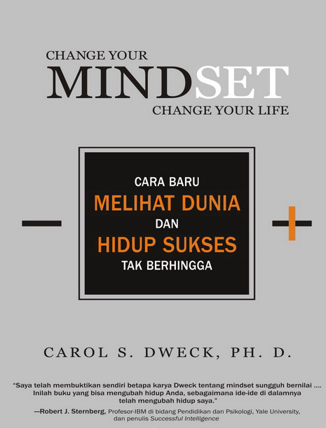 Download ebook gratis Change Your Mindset, Change Your Life karya Carol S. Dweek, Ph.D