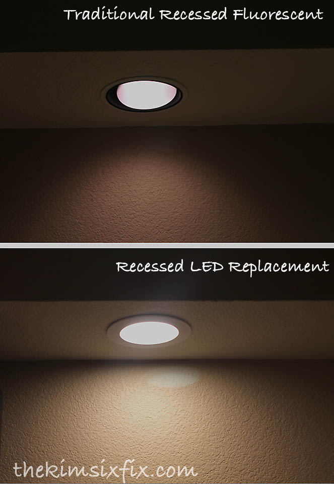 Tutorial on how to turn your recessed lighting into LED lighting.