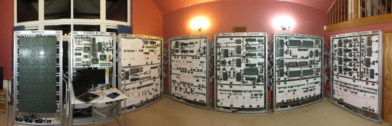 Un Processore di mezza tonnellata ci mostra come funzionano i Computer in tempo reale | Video HTNovo