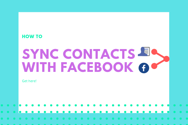 Add Contacts From Facebook<br/>