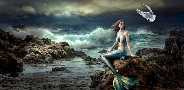 Image: Mermaid By the Sea, by Stefan Keller on Pixabay