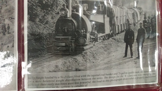 OLD IMAGES OF DARJEELING TOY TRAIN