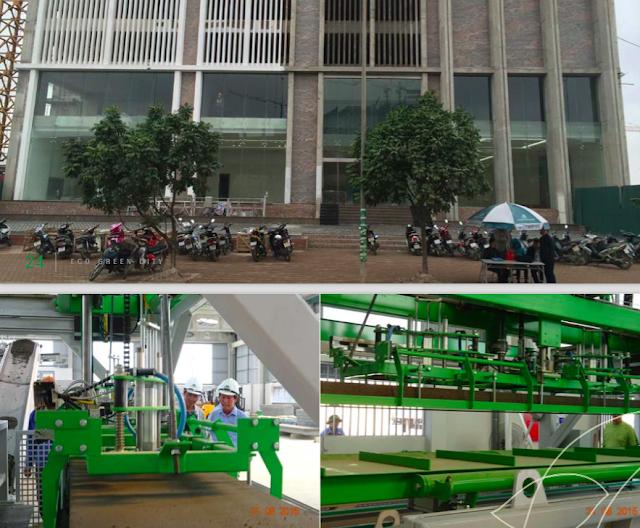 Công nghệ thi công tại Eco-green city
