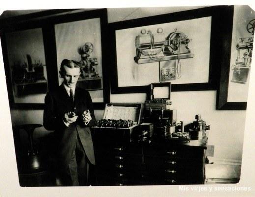 Exposición de Nikola Tesla