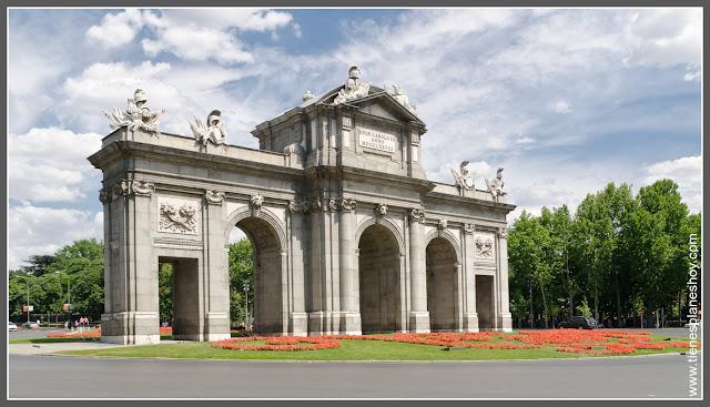 Puerta de Alcalá Madrid