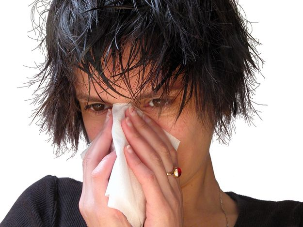 myth about catching a flu if you go outside with wet hair