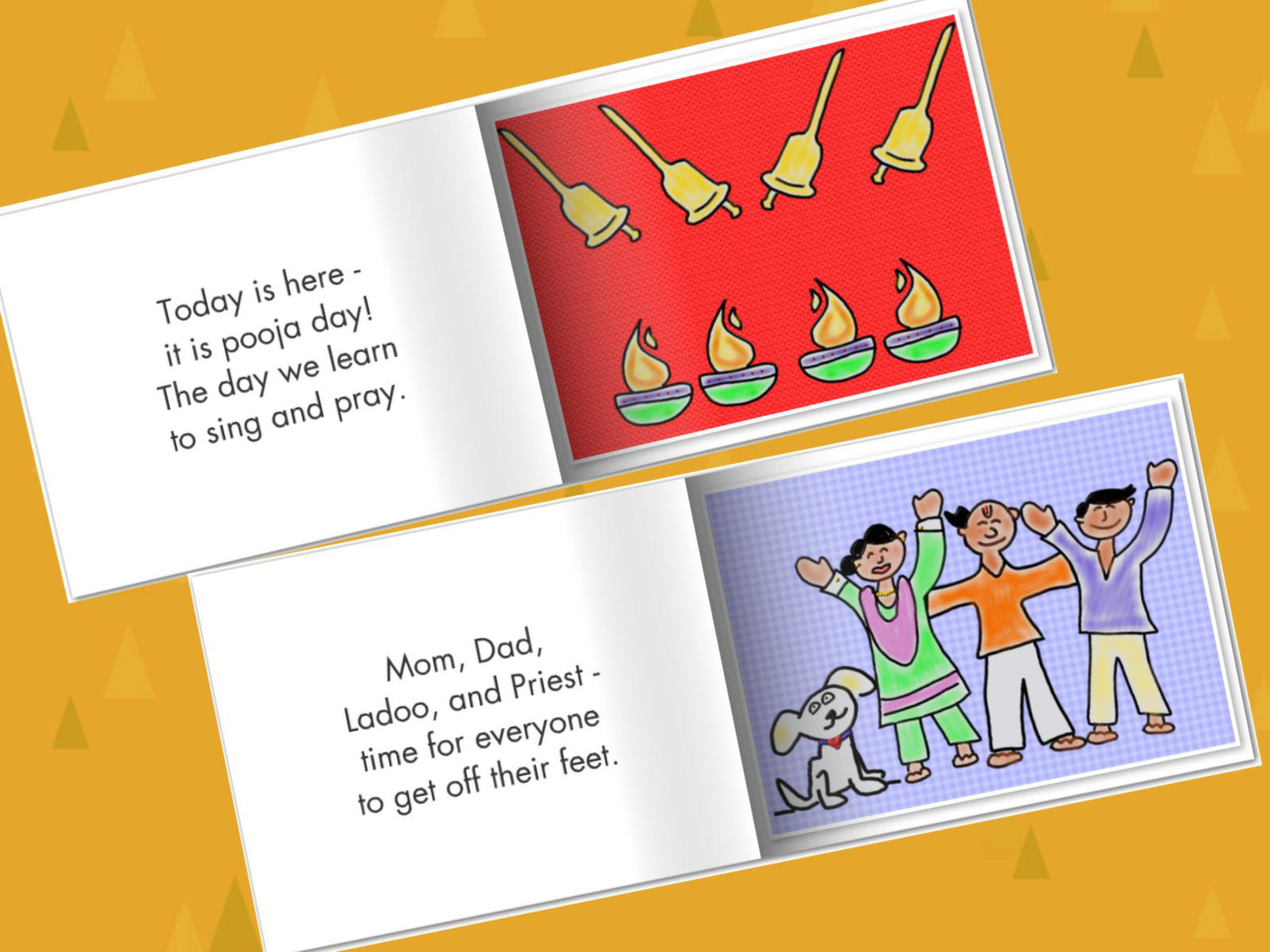 Ladoo & Pooja Day | Priya's Lit Blog: LadooBook -Multicultural Children's Book Review