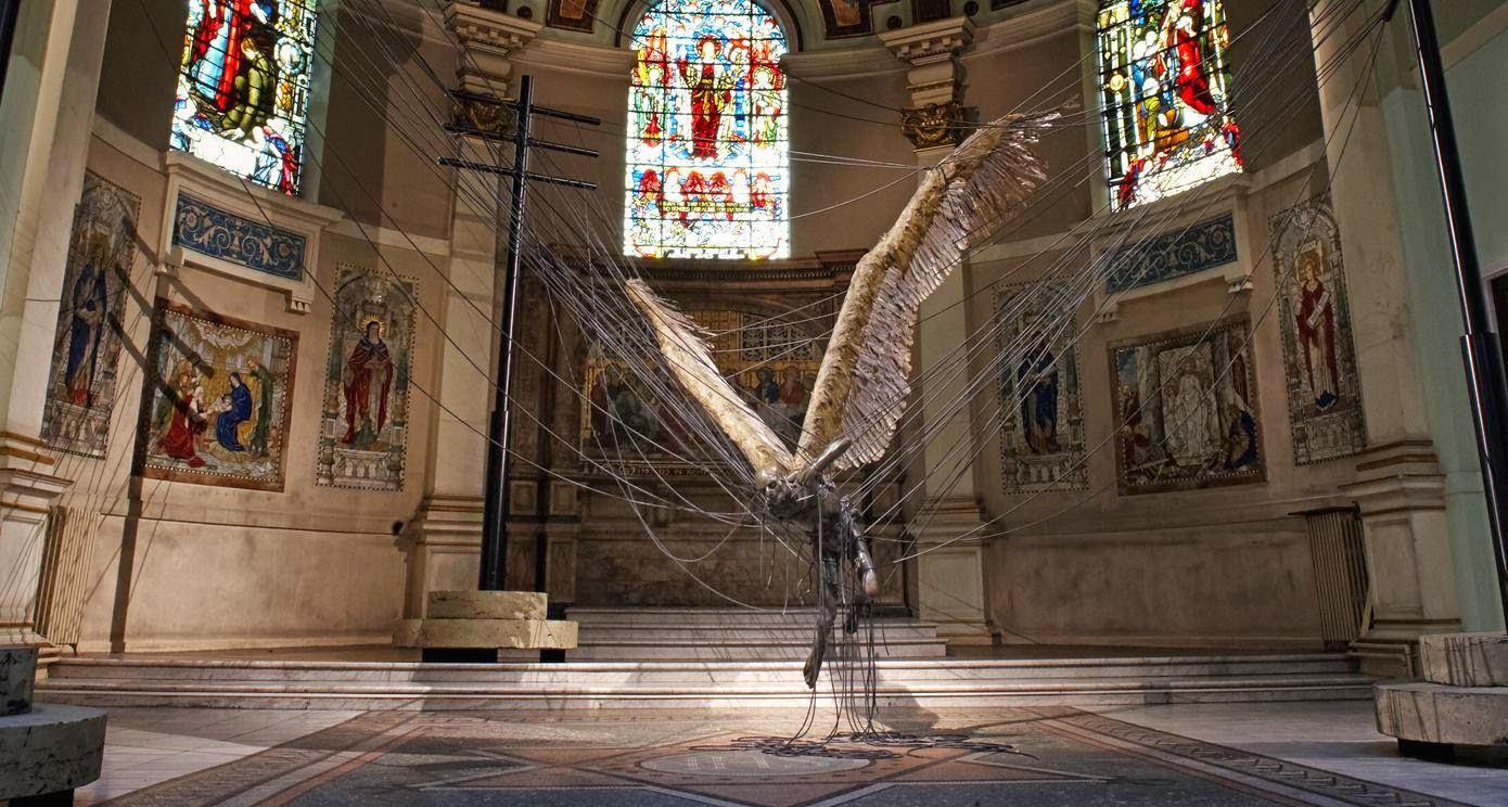 Lucifer inside the Holy Trinity Church