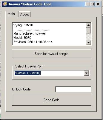 Unlock Huawei B970 HSDPA Modem Step-5.1