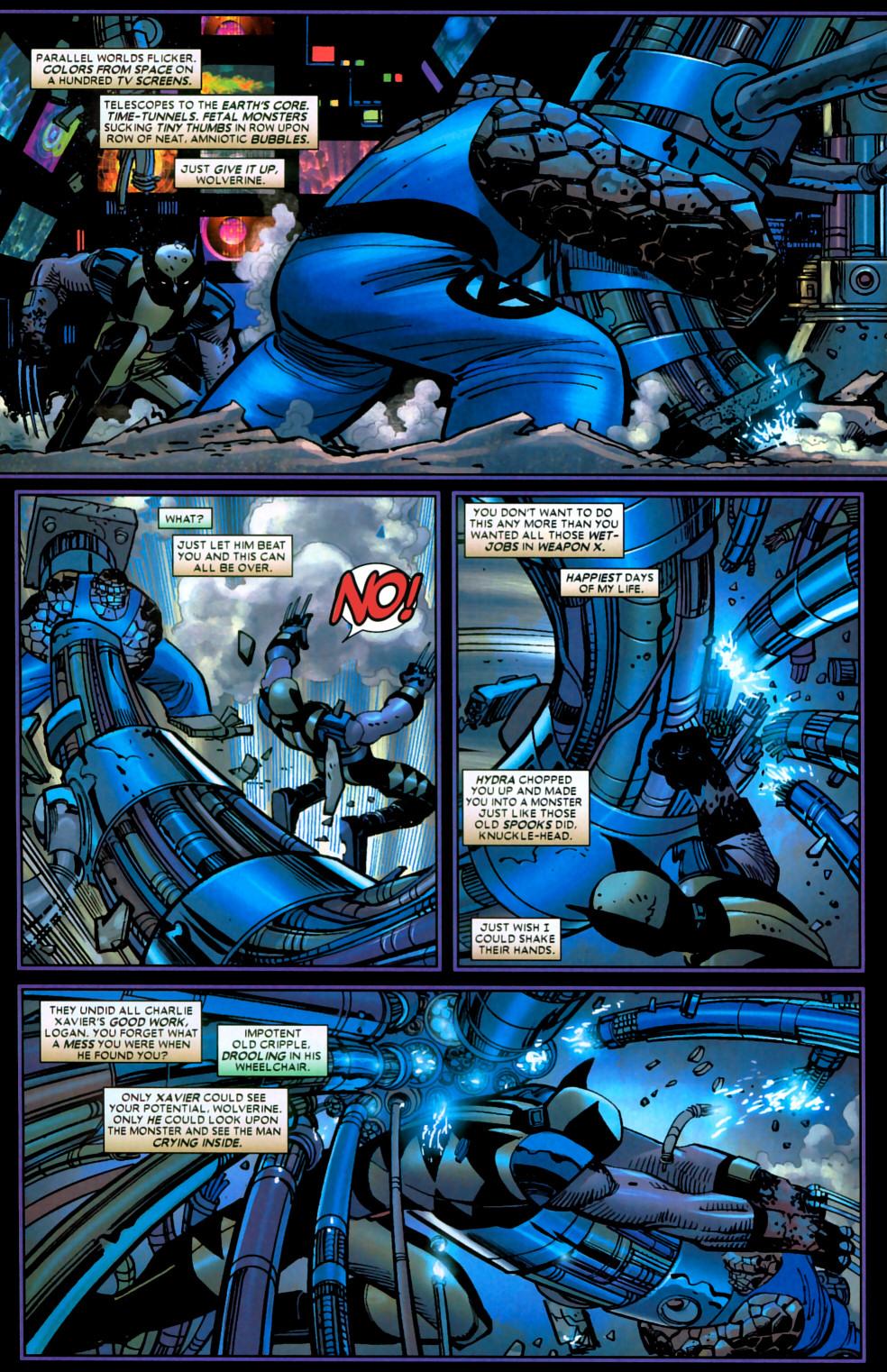 Read online Wolverine (2003) comic -  Issue #22 - 13