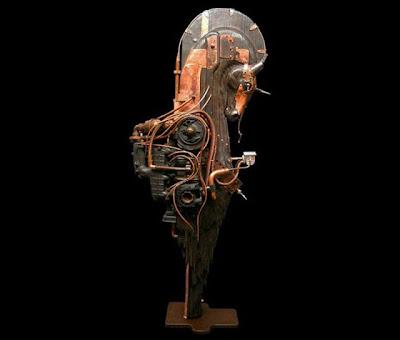 Escultura Steampunk