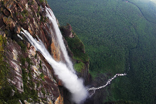 Top five waterfall-according to average annual water flow