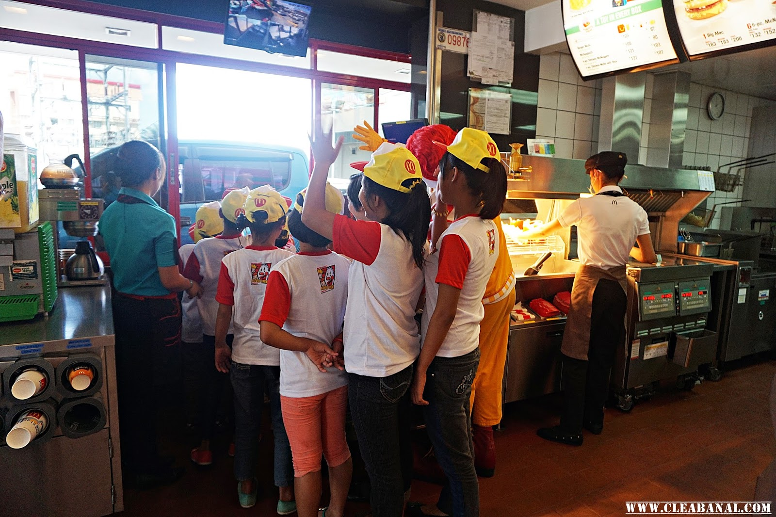 mcdonald s kiddie crew workshop 2016 clea banal customers and drive thru like a real crew member discipline teamwork responsibility sharing and hardwork are some of the values they will learn