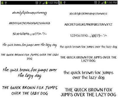 aplikasi fonts for galaxy flipfont free