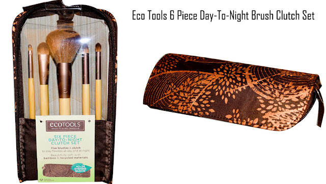 Eco Tools Six Piece Day-To-Night Brush Clutch Set