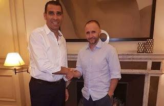 جمال بلماضي المدرب الجديد للمنتخب الوطني الجزائري