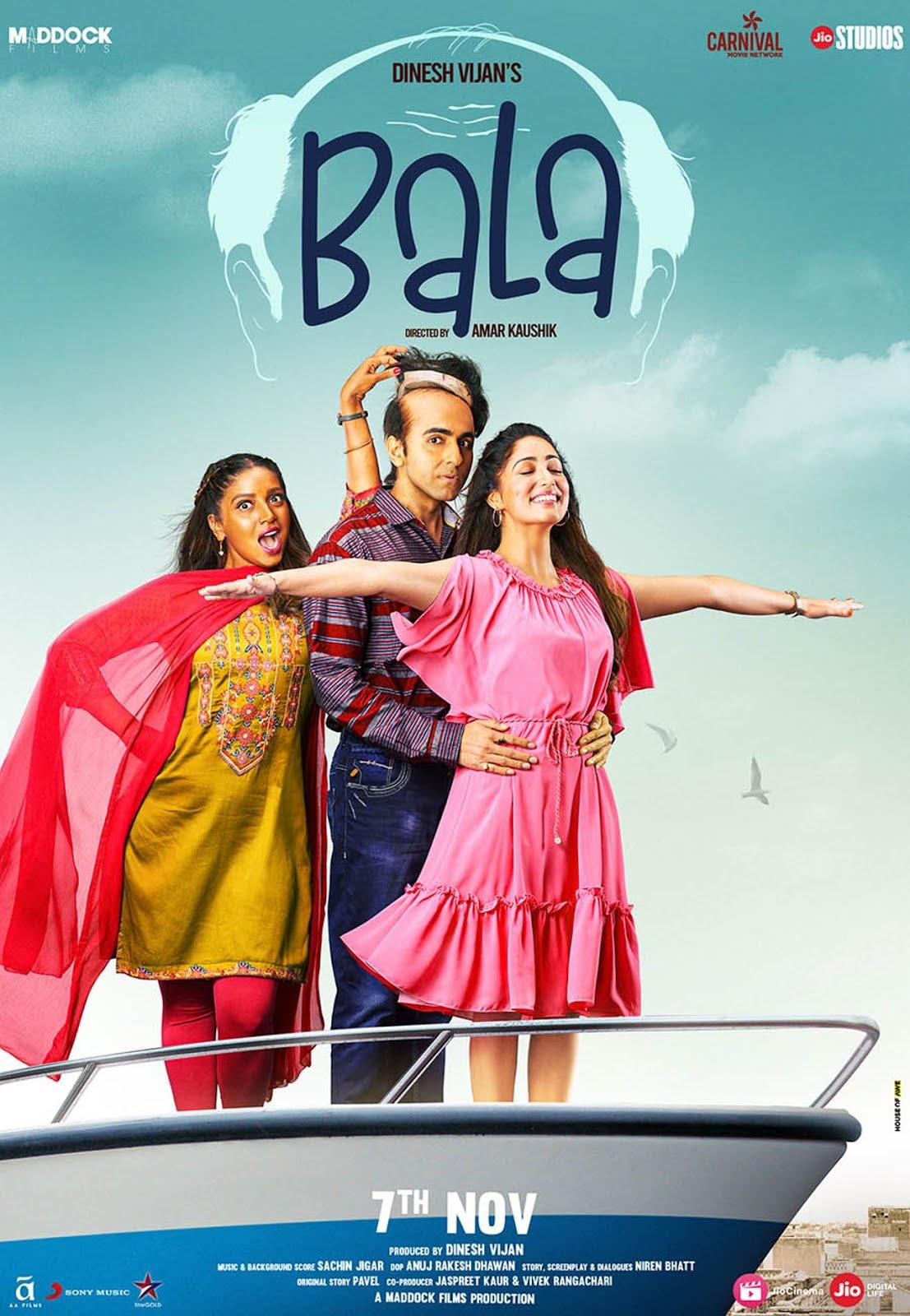 Bala (2019) Hindi 1080p WEB-DL 1.5GB ESubs
