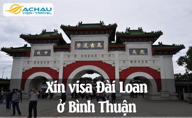 Xin visa Đài Loan ở Bình Thuận