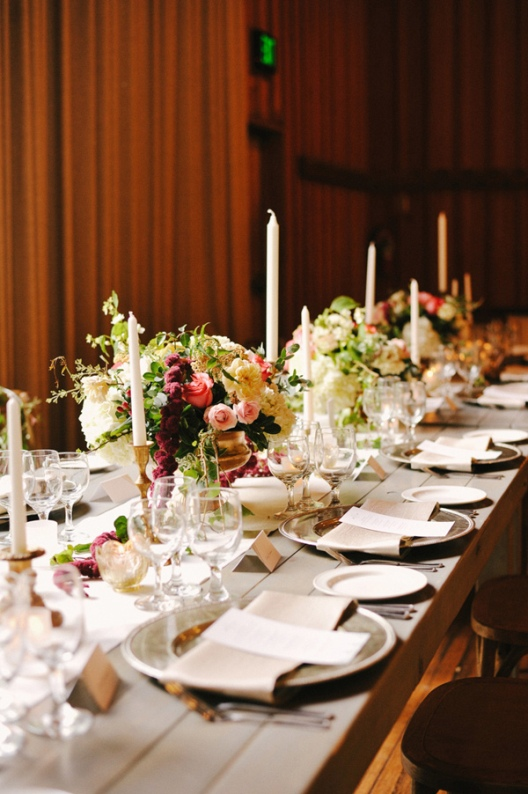 celebración de boda en un ambiente rústico