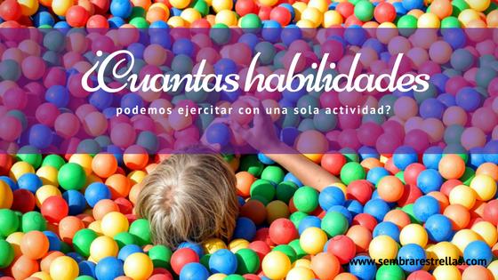 Muchas veces desaprovechamos el potencial de los juegos y actividades que realizamos con nuestros hijos pequeños.