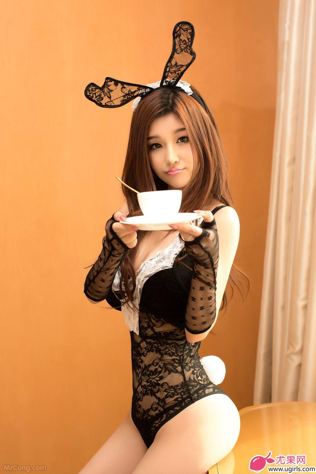 Image MrCong.com-UGIRLS-015-Chun-Xiao-Xi-023 in post Người đẹp Chun Xiao Xi (纯小希) siêu nóng bỏng trong bộ ảnh UGIRLS 015
