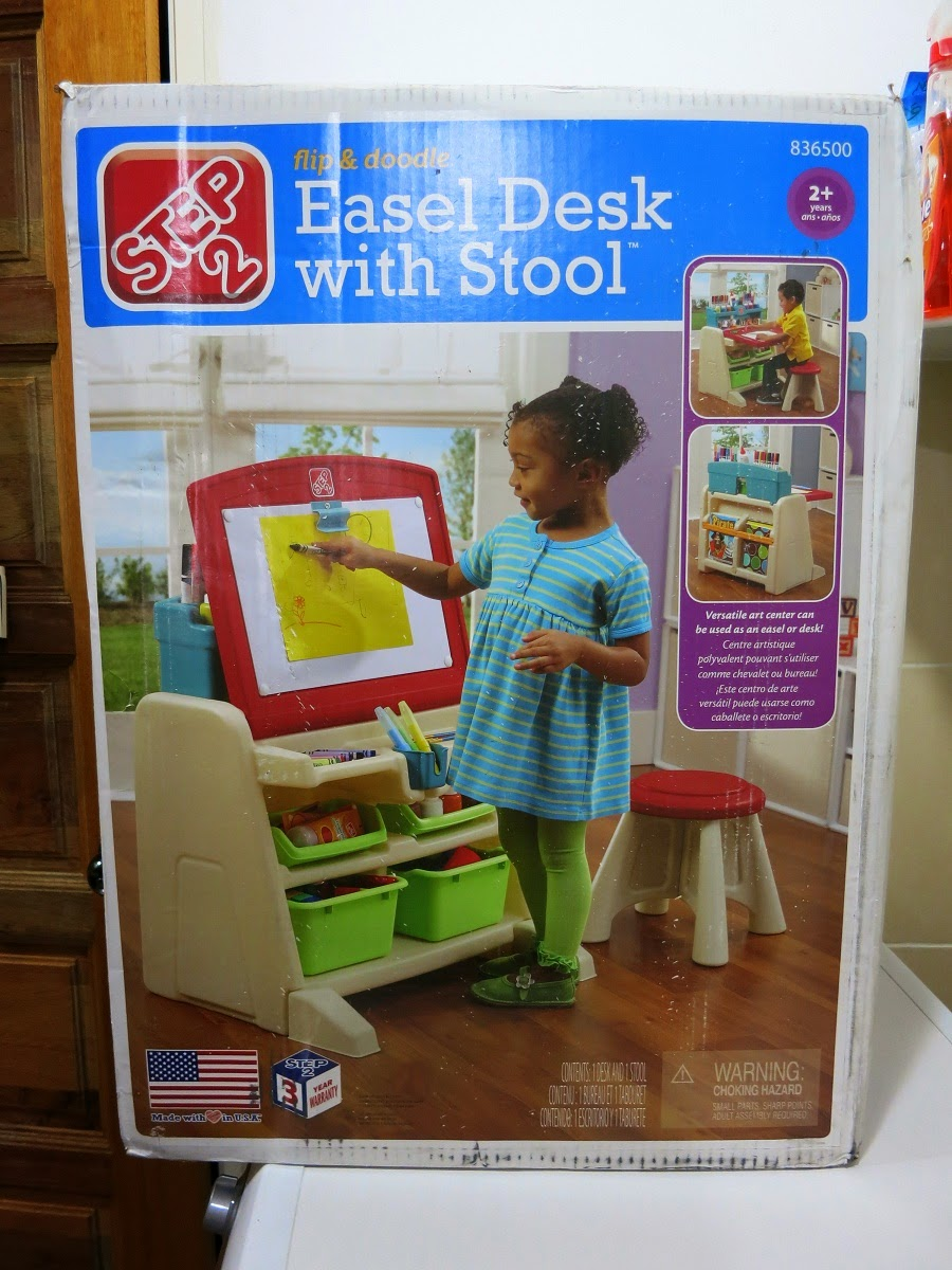 Strawberry Tags Step 2 Flip Amp Doodle Easel Desk With