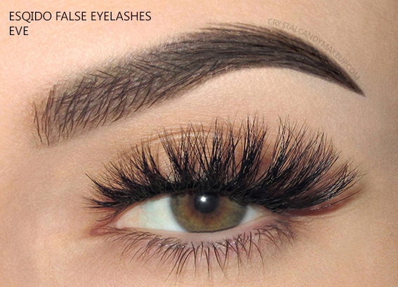 Esqido False Lashes Noire Collection Eve