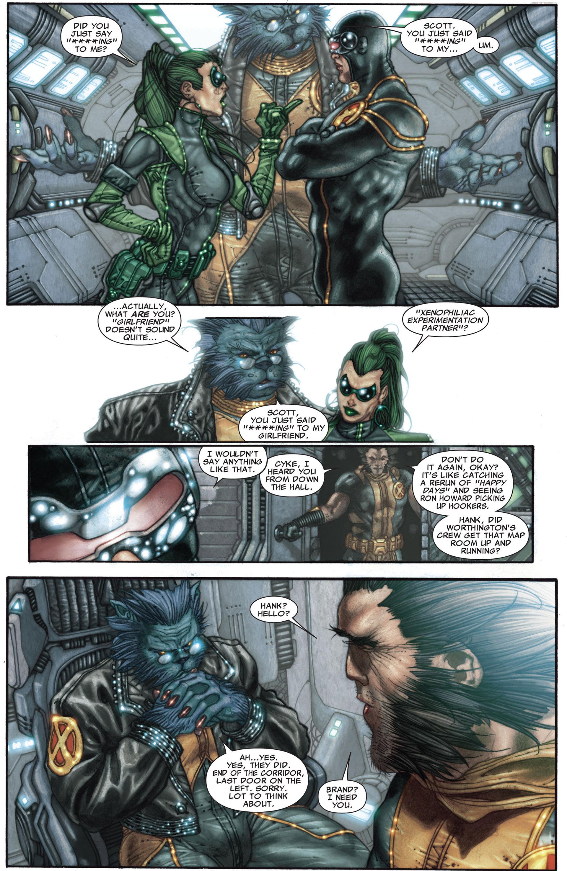 Read online Astonishing X-Men (2004) comic -  Issue #27 - 13