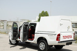 MSV's Armored Hilux Cash-In-Transit (armored money truck)