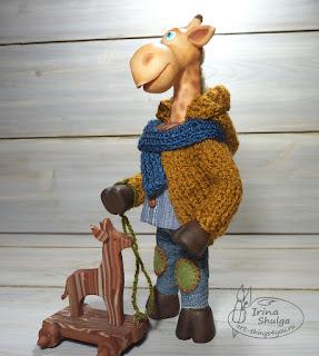 Кукла-жираф Жора