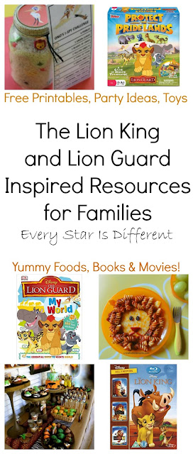 The Lion King and Lion Guard Inspired Resources for Families
