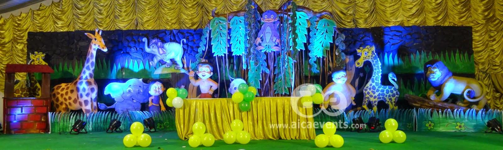 Aicaevents Chota Bheem Theme Party Decorations