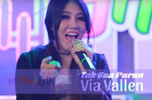Lirik Tak Sun Purun Via Vallen dangdut