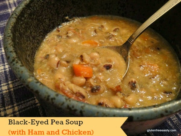 Slow Cooker from Scratch®: Slow Cooker Black-Eyed Pea Soup with Ham ...