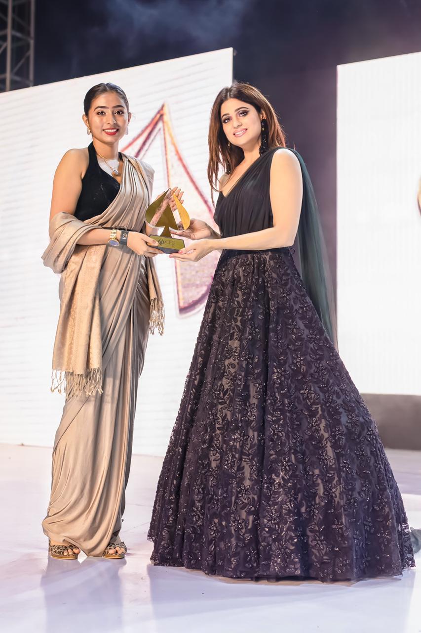 Priyanka Sarmacharjee images at award show