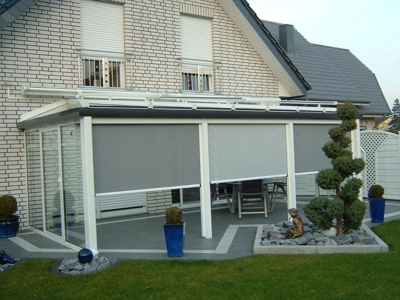 Schweng Überdachung Terrassenüberdachung Inkl Unterdachmarkise