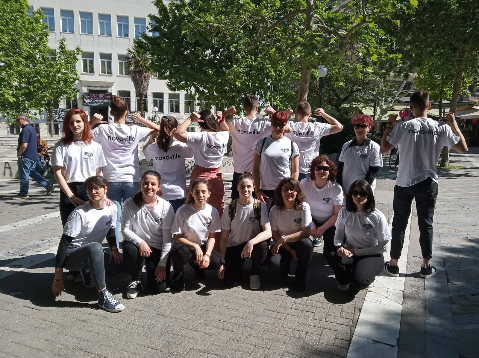 Ενημέρωση για το Γραφείο Πολιτών και την εφαρμογή Νovoville από τον Δήμο Λαρισαίων
