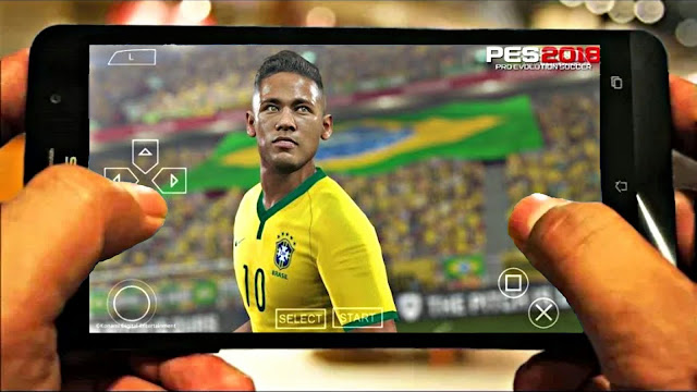 New PES 2018 Android Offline And New Menu Best Graphics Real Faces