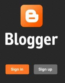Smartphone Application for blogger