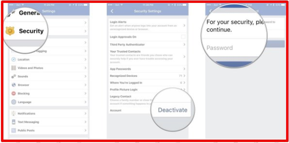 how to discontinue facebook profile