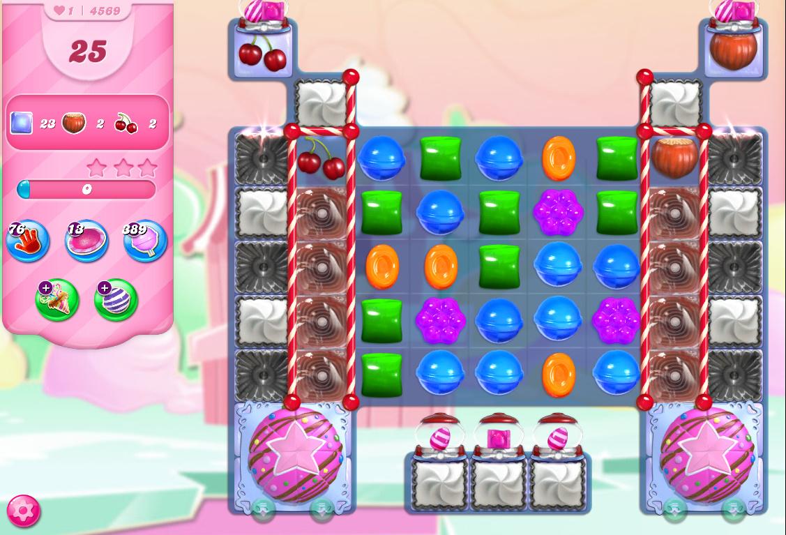 Candy Crush Saga level 4569