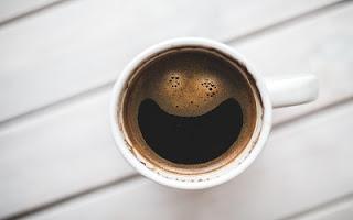 Caffè simpatico col sorriso