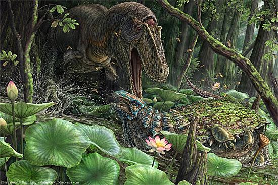 Dynamoterror - primo antigo do Tiranossauro Rex é descoberto - Dynamo terror dynastes