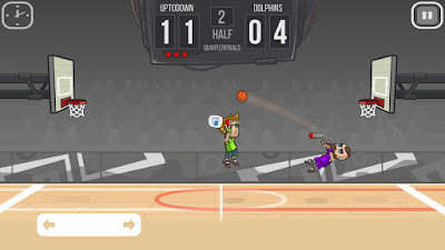 لعبة Basketball Battle مكركة، لعبة Basketball Battle مود فري شوبينغ