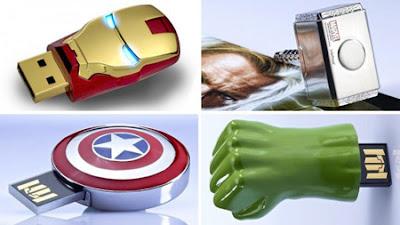memorias flash de los Avengers