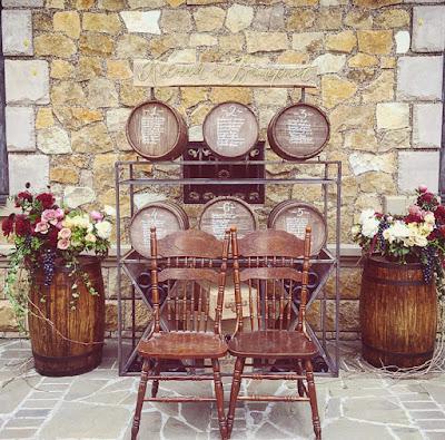 matrimonio allestimenti vino lada fiori